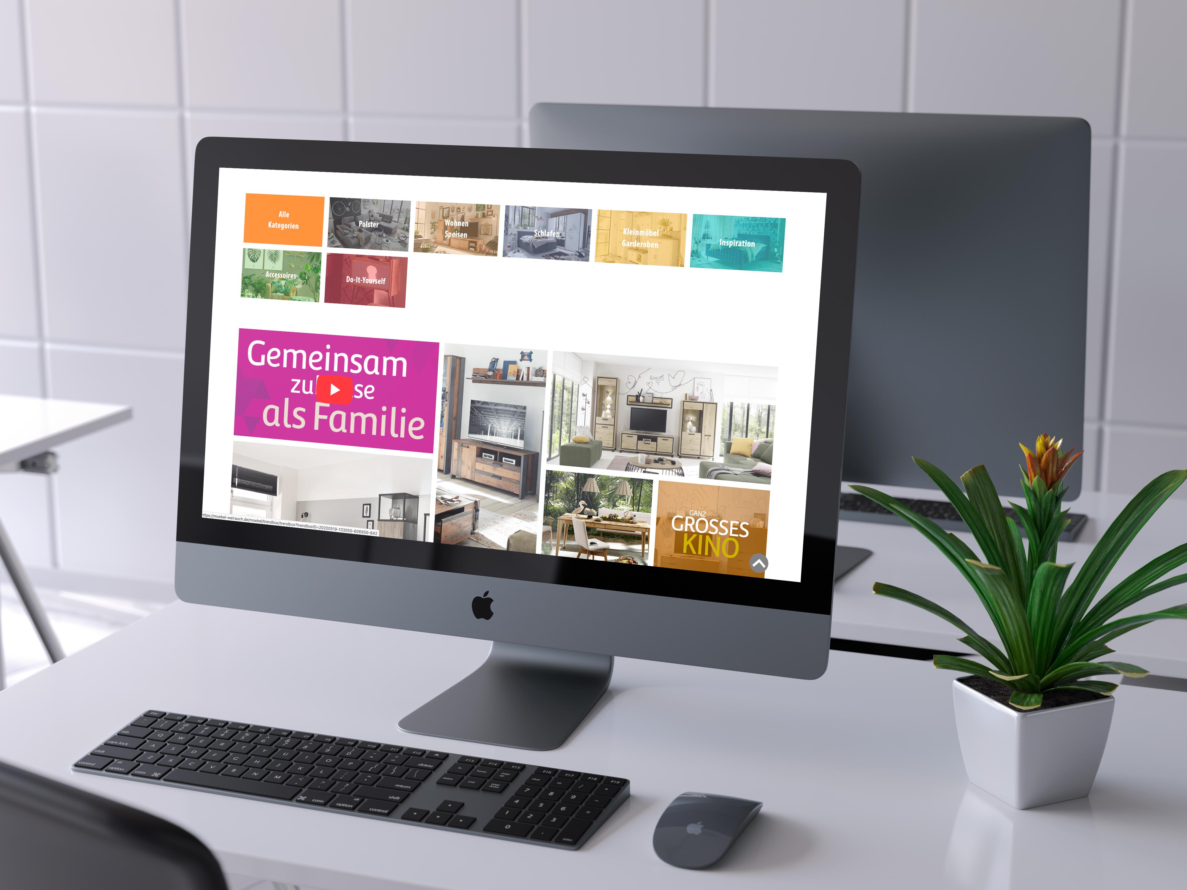Stand-PC mit Trendbox-Screen