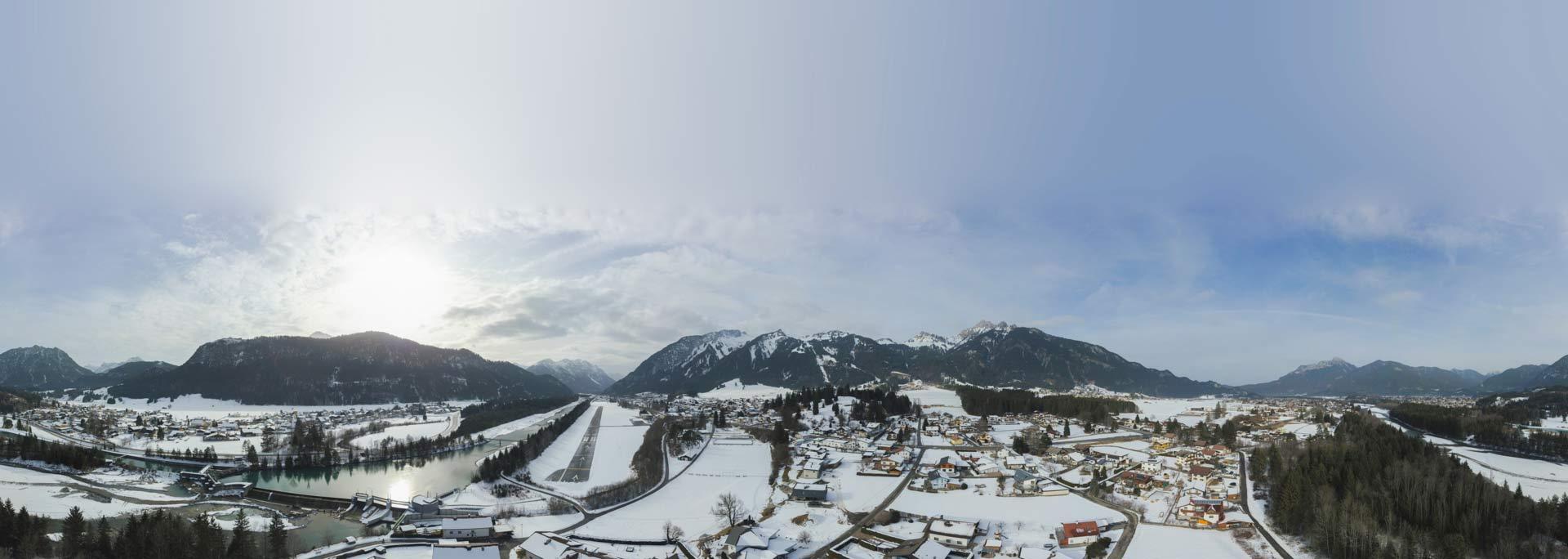 Panorama Aufnahme Schweiz
