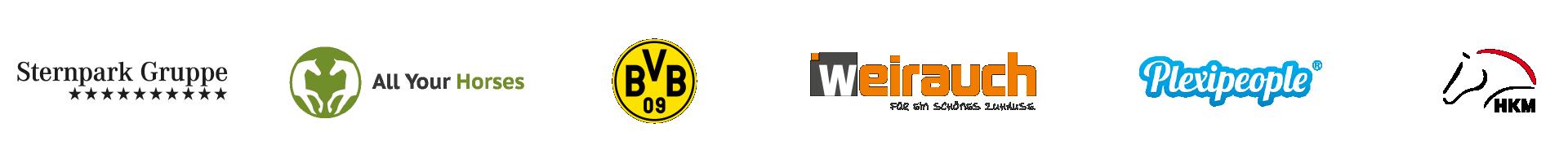 Logos bestehender Referenzen