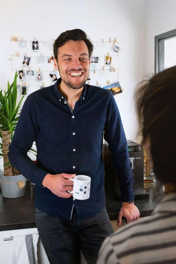 Portrait des Geschäftsführers