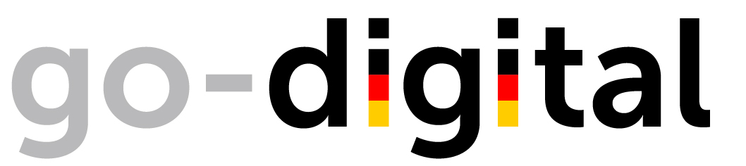 Förderprogramm go-digital Logo