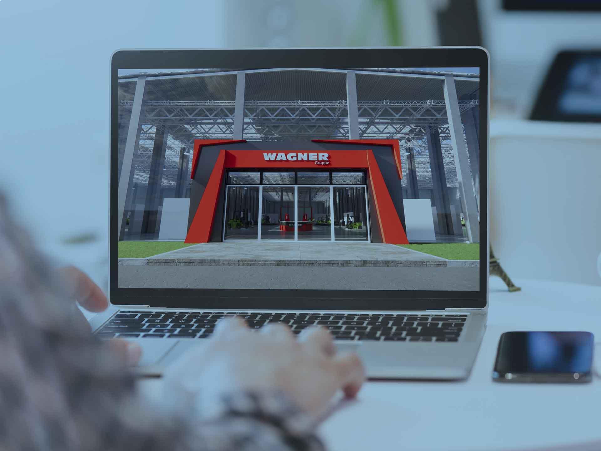 Mock-Up: Virtueller Showroom für die WAGNER Gruppe