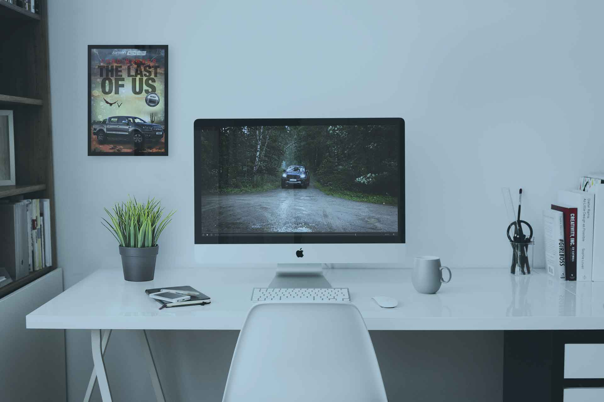 Videoclip wird auf einem PC dargestellt